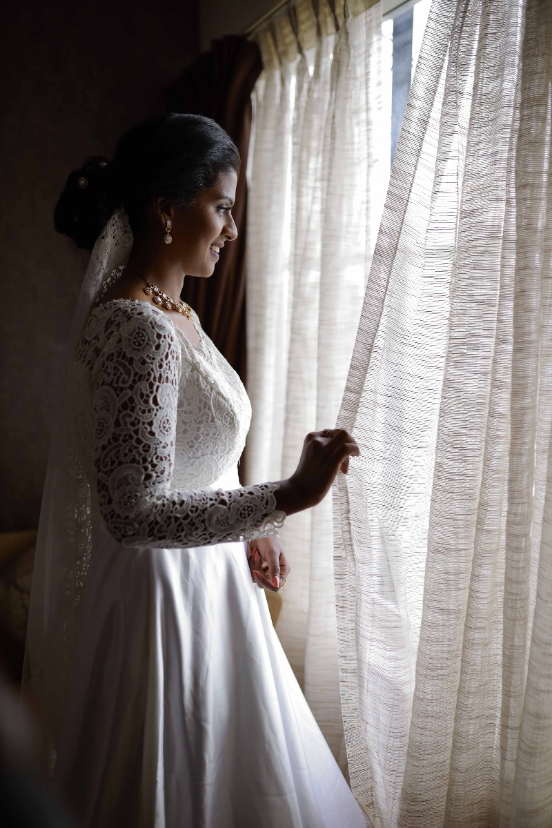 Beautiful Signature Bridal Gown from our collection  Carried by pretty bride Aylin  on her wedding