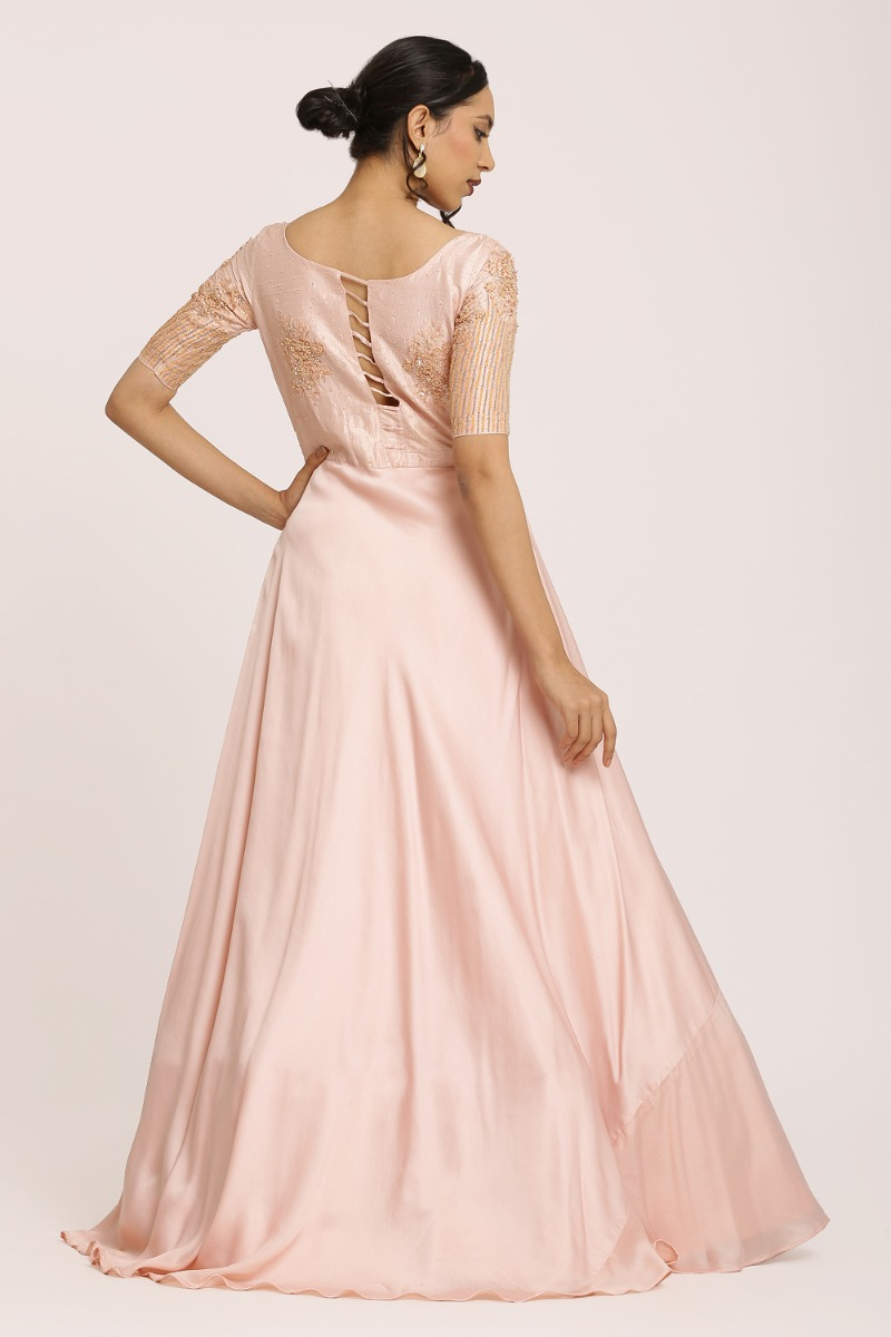 Light Pink Party Gown