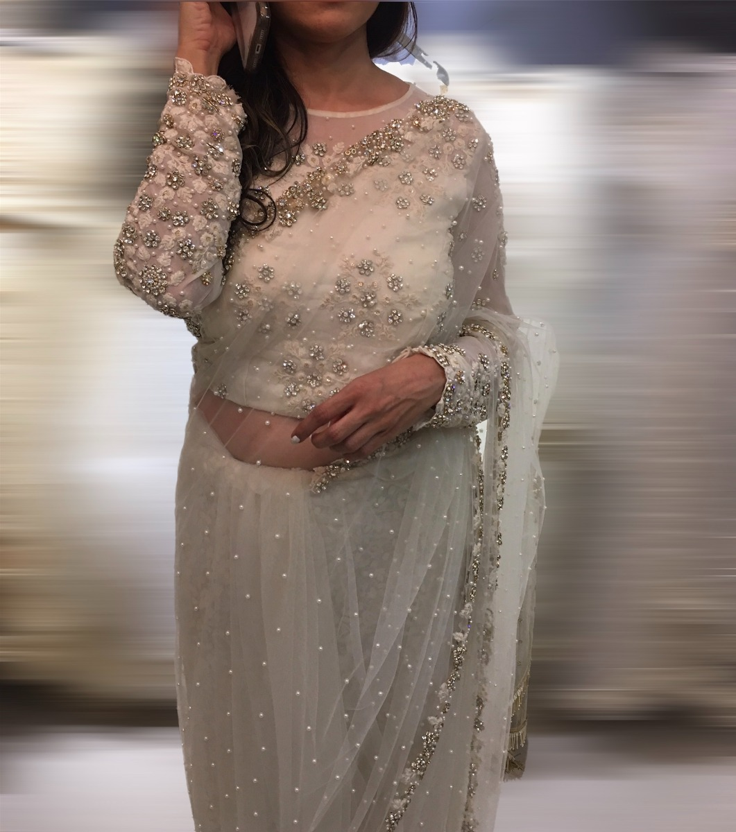 Beautiful Signature Bridal Saree from our collection  Carried by pretty bride