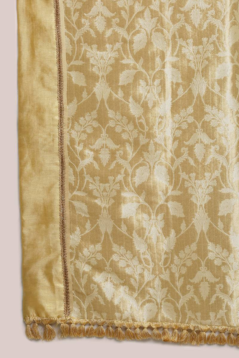 Golden Banarasi Tissue Saree