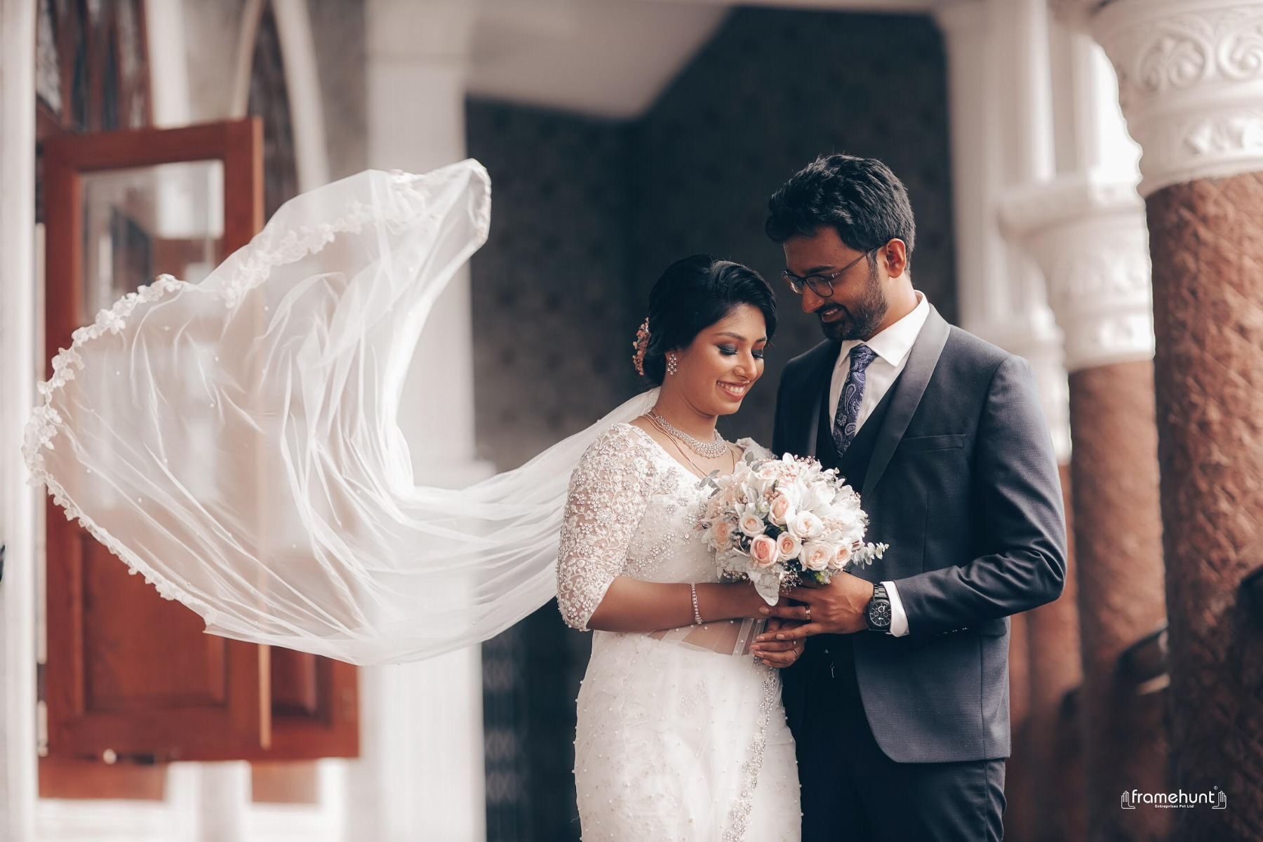 Beautiful Signature  Saree from our collection  Carried by pretty bride Sara on her wedding