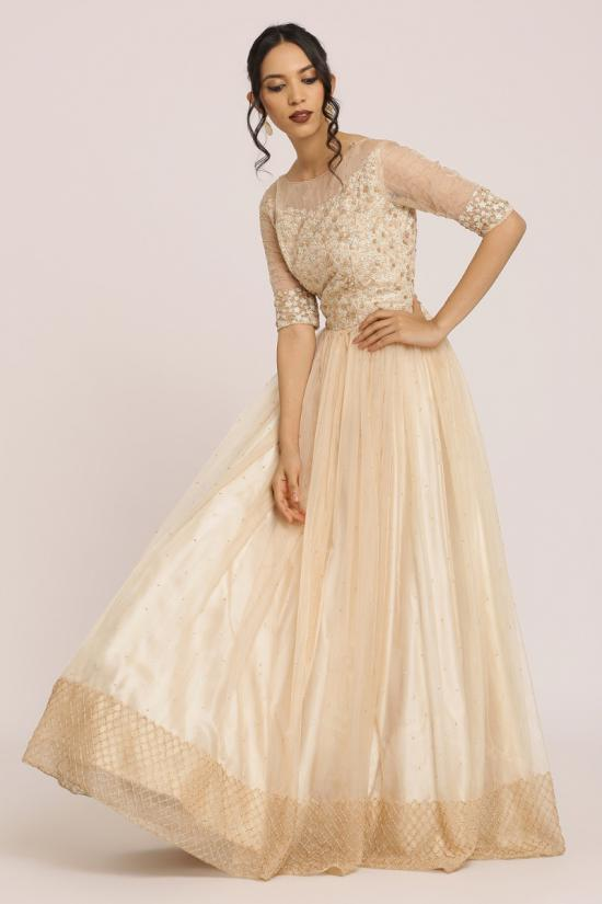 Rose Gold Gown