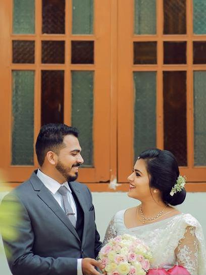 Beautiful Signature Bridal Saree from our collection  Carried by pretty bride Ansu  on her wedding