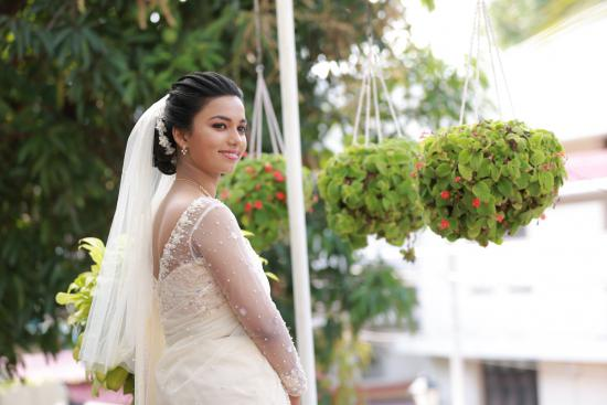 Beautiful Signature Bridal Saree from our collection Carried by pretty bride Ida on her wedding