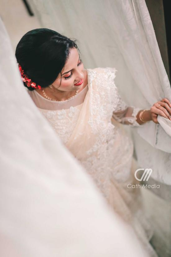 Beautiful Signature  Saree from our collection  Carried by pretty bride Rejina on her wedding